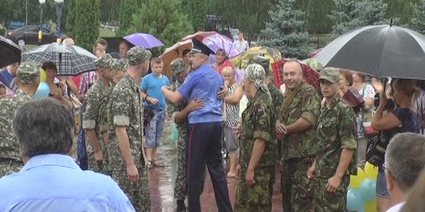 Зустріч військових