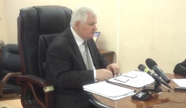 Прес-конференція Миколи Панащенка