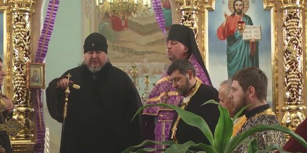 Богослужіння у соборі Св.Арх.Михаїла