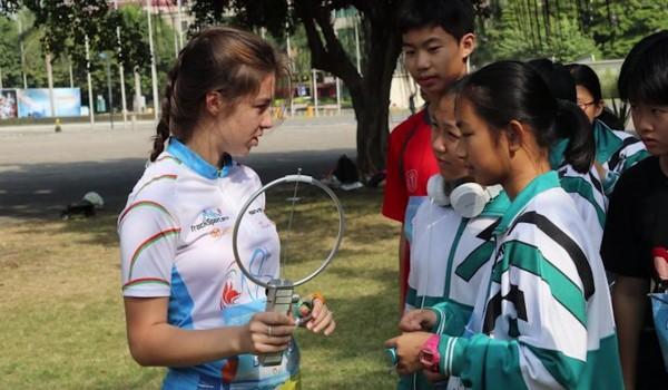 Тренерська робота кютівців у Китаї