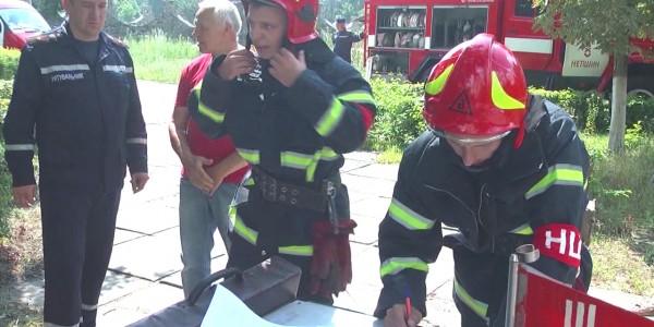 Тактико-спеціальні навчання рятувальників