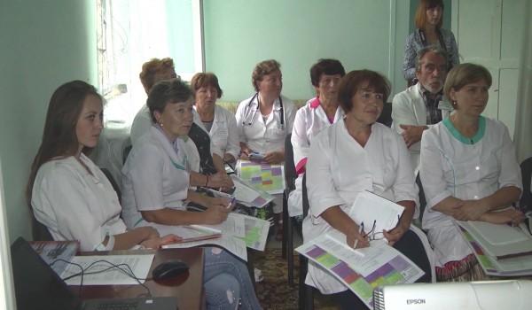 Тренінг для лікарів ЦПМСД