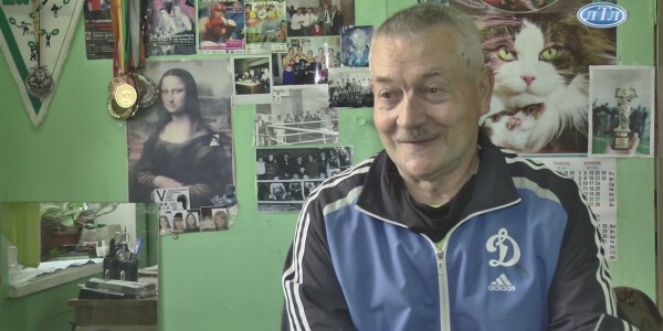Заслуженому тренеру України Анатолію Грушину - 70[13-27-23]
